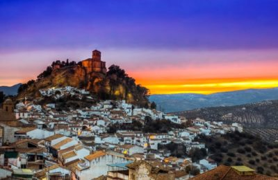 Yourandalusia.com - Travels in Andalucia - Tours in Southern Spain - Beautiful pueblo blanco of Montefrio - Andalucia white town