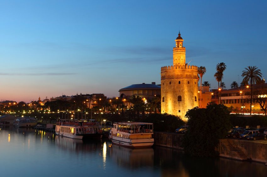 Yourandalusia.com - Travels in Andalucia - Tours in Southern Spain - Seville - Tower of Gold